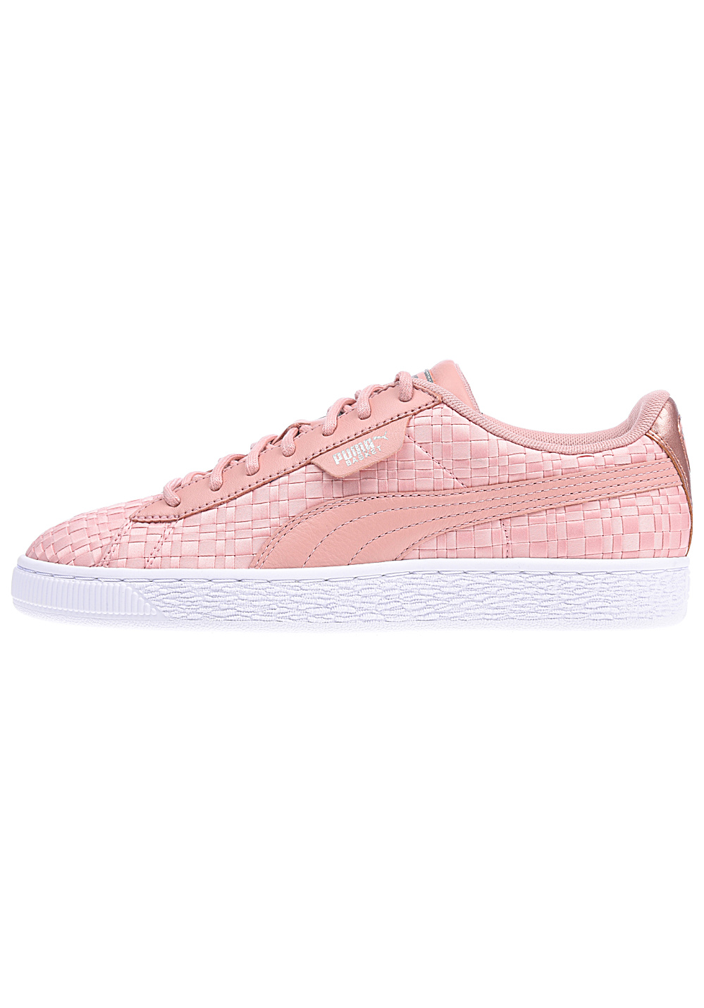 competitive price 9cf94 8d3cd Puma Basket Satin En Pointe - Sneakers for Women - Pink