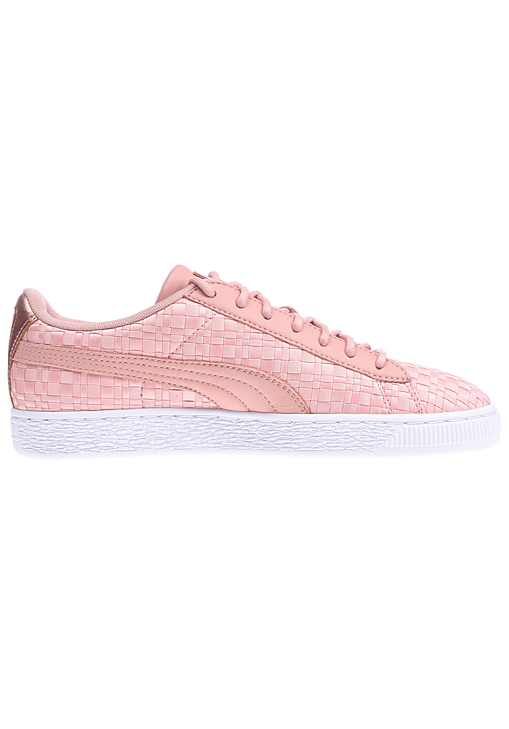 Puma Basket Satin En Pointe Rose Femmes Puma