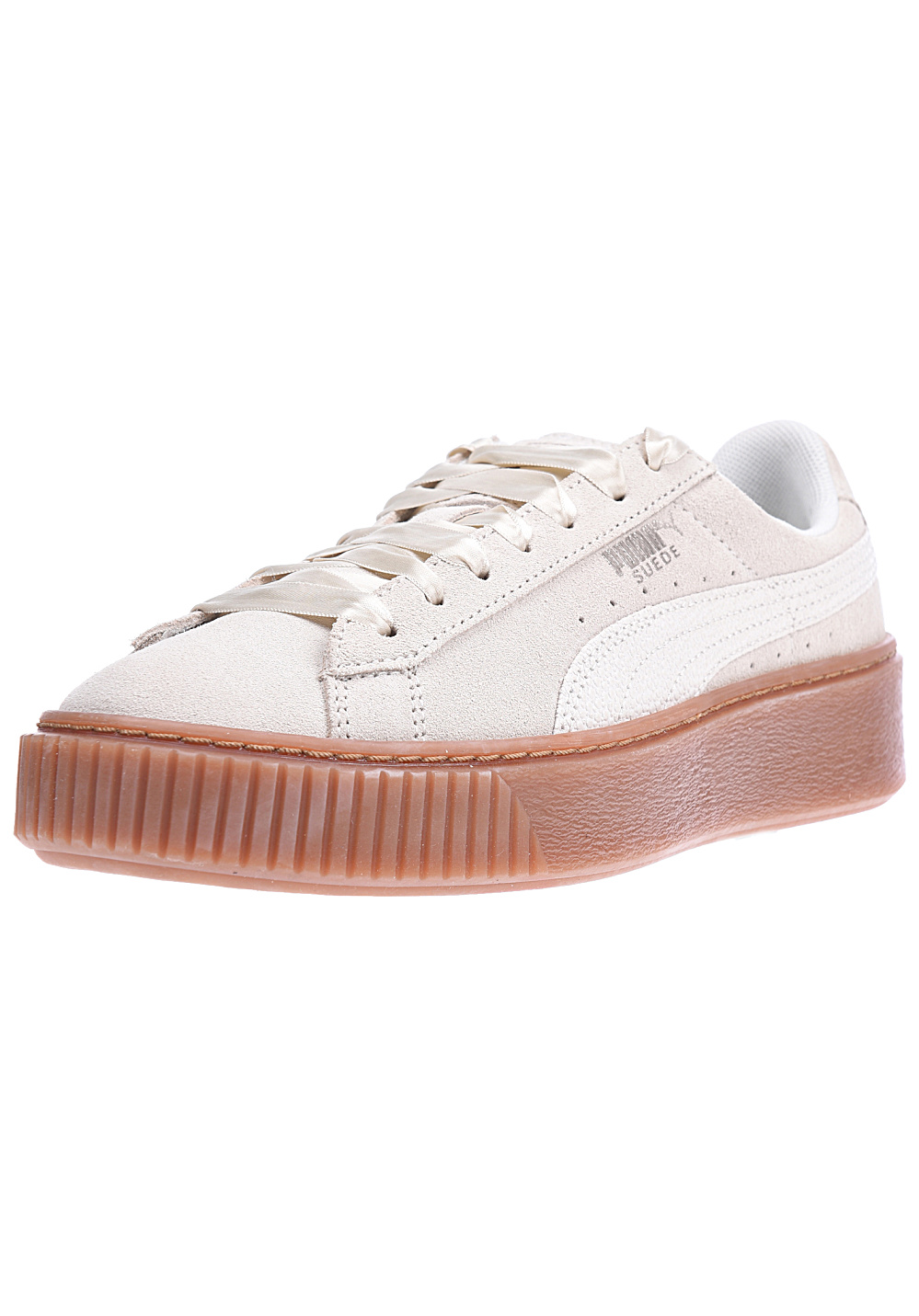 differently eb976 f6e7b Puma Suede Platform Bubble - Sneakers for Women - Beige