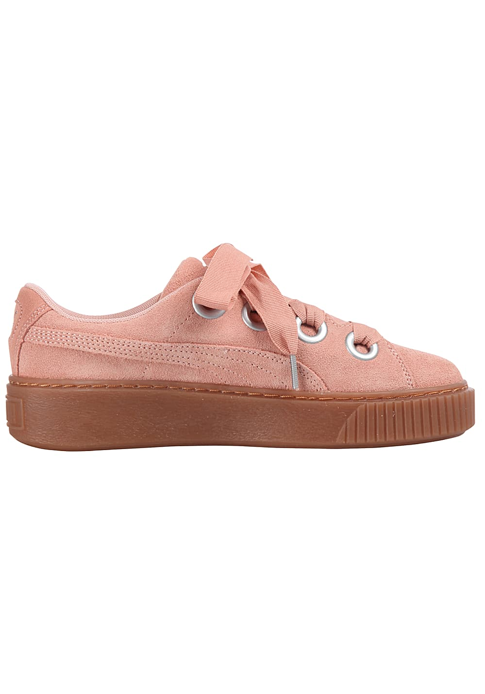 892f711d3dc Puma Platform Kiss Suede - Sneakers for Women - Pink - Planet Sports