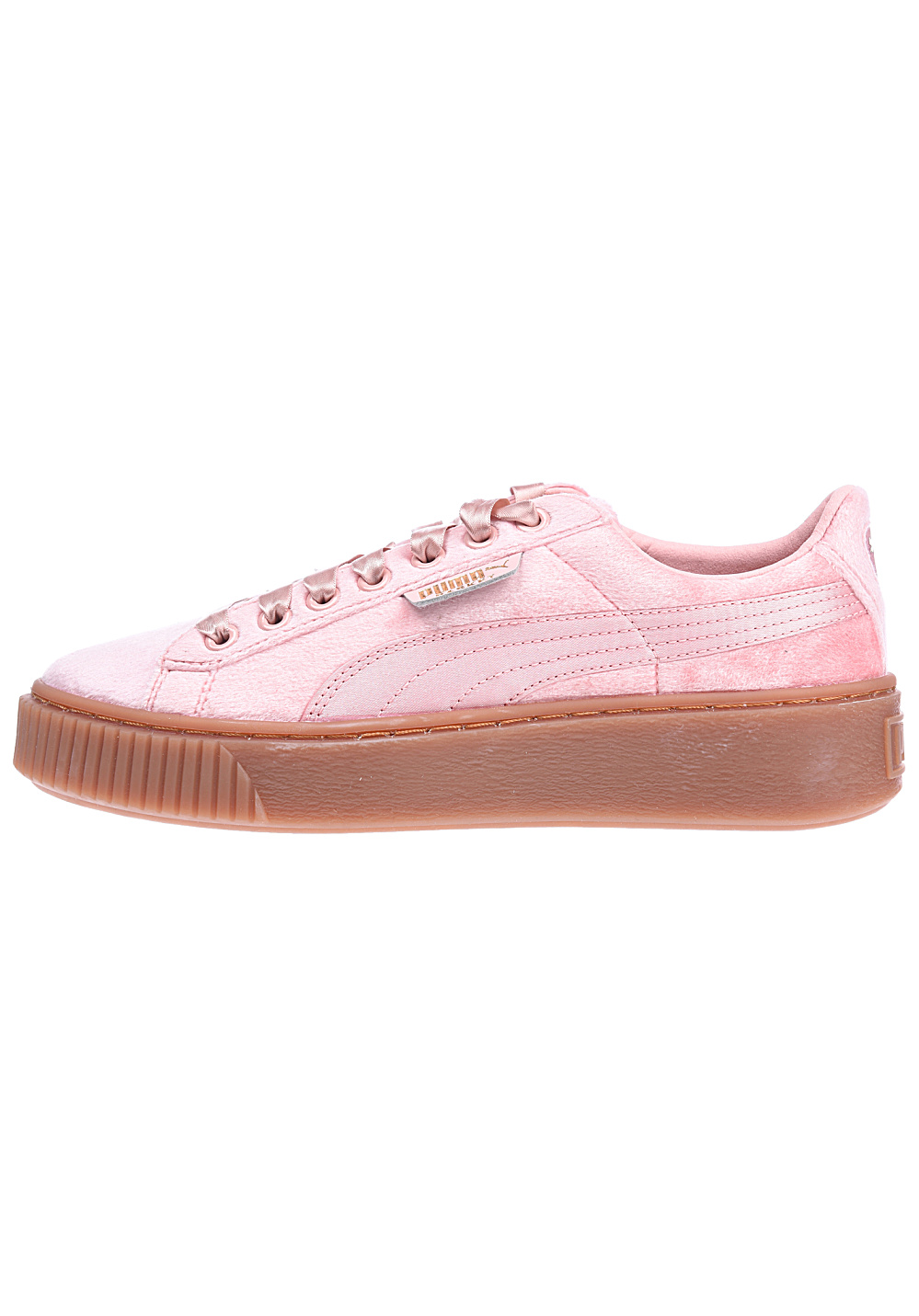 huge sale b986c bc280 Puma Basket Platform VS - Sneakers for Women - Pink