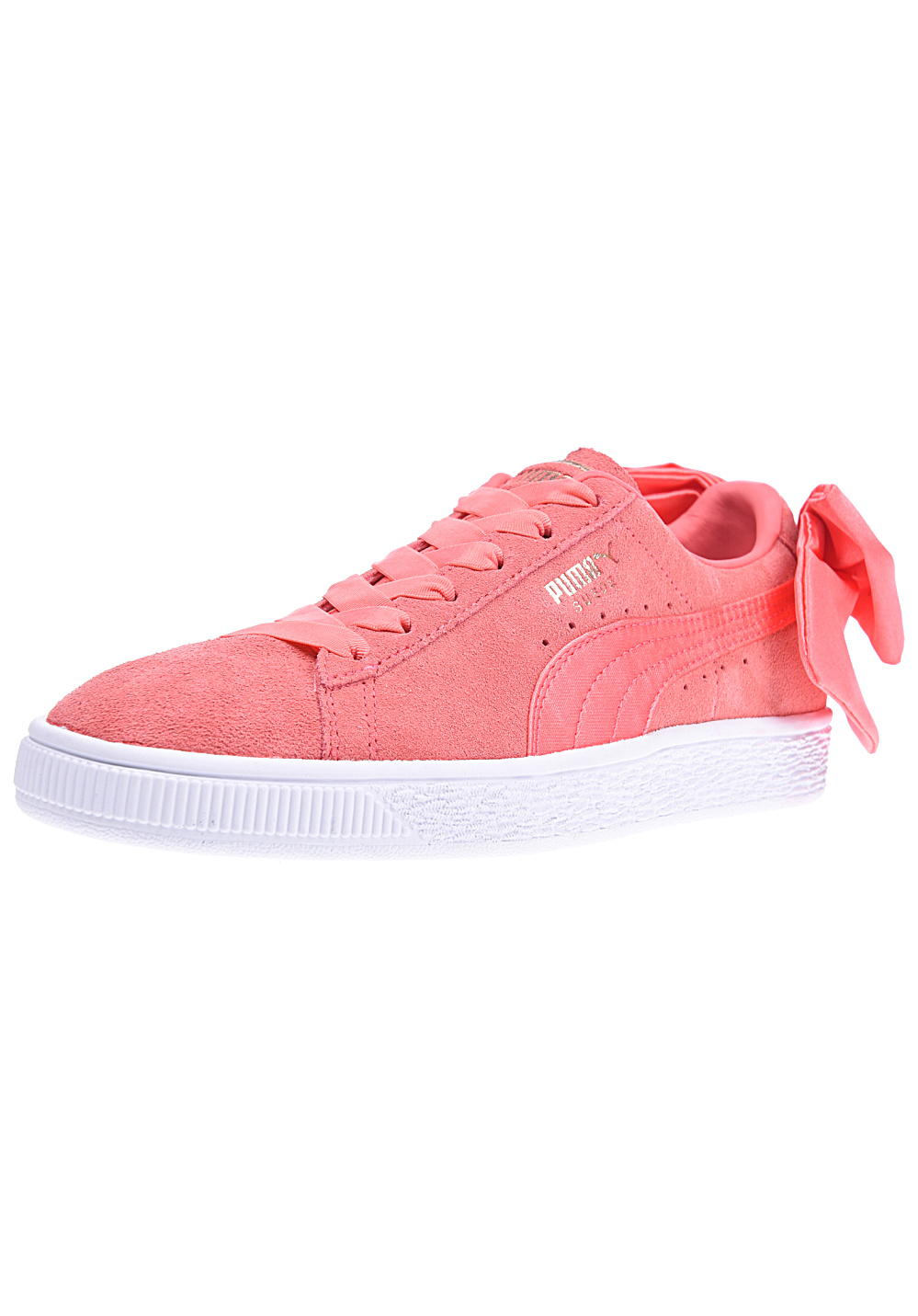 d72a184b38c8 Puma Suede Bow - Sneakers for Women - Pink - Planet Sports