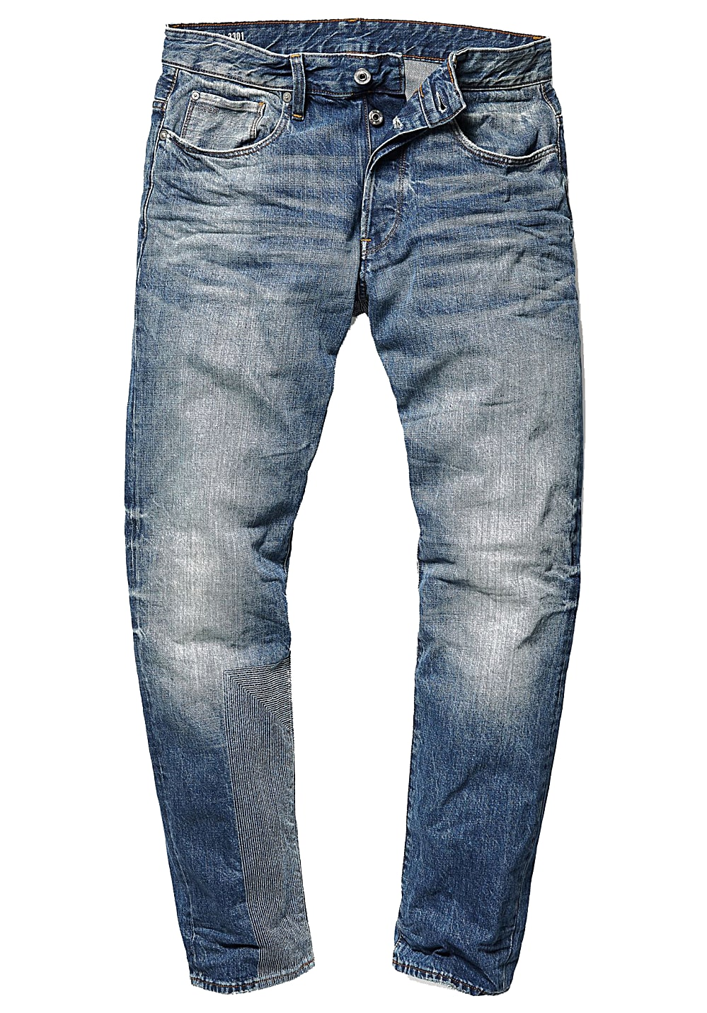 G STAR 3301 Tapered Prestored Jean pour Homme Bleu