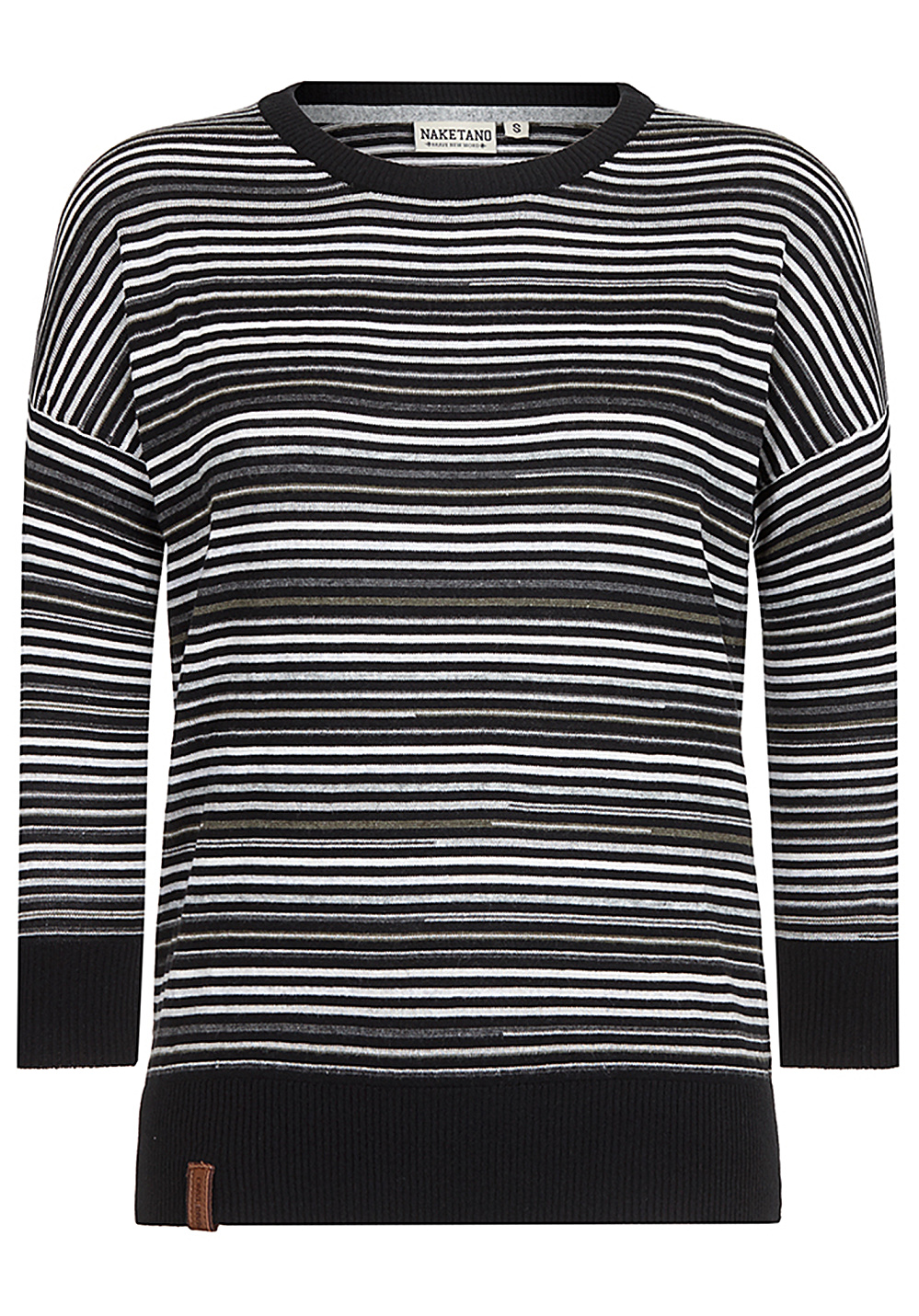 NAKETANO Streets Of South Jamaica Knitted Pullover for Women Black