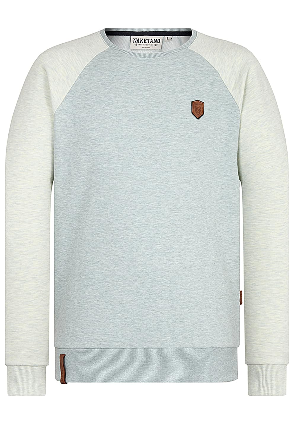 NAKETANO The Jordan Rules Sweatshirt for Men Blue