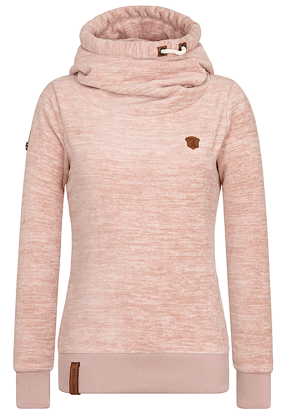 NAKETANO Pellkopp Sibi Hooded Sweatshirt for Women Pink
