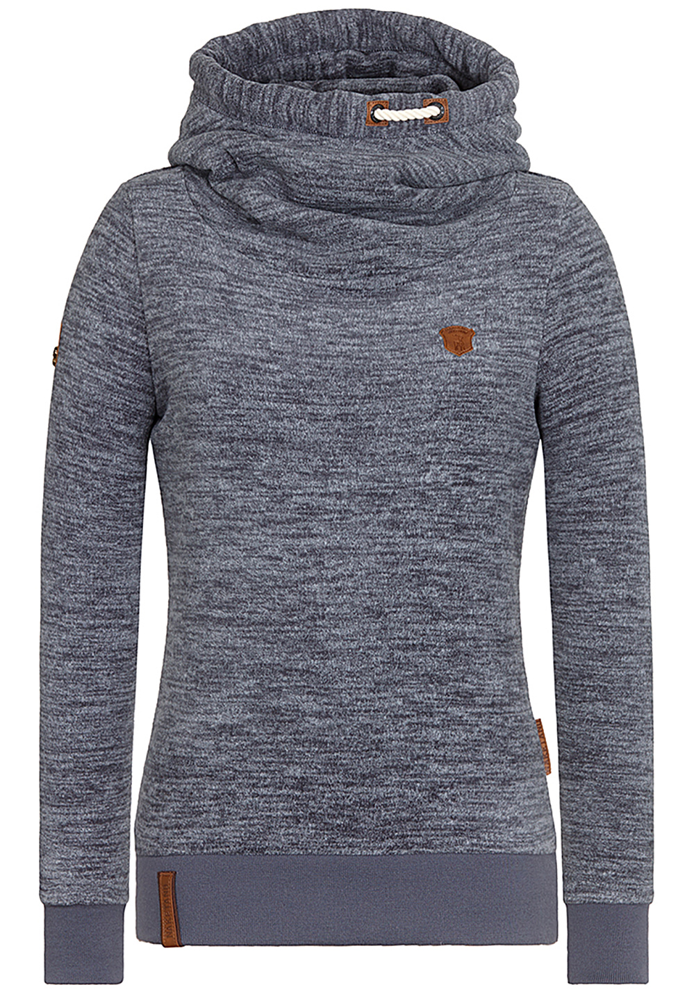 NAKETANO Pellkopp Sibi Hooded Sweatshirt for Women Blue