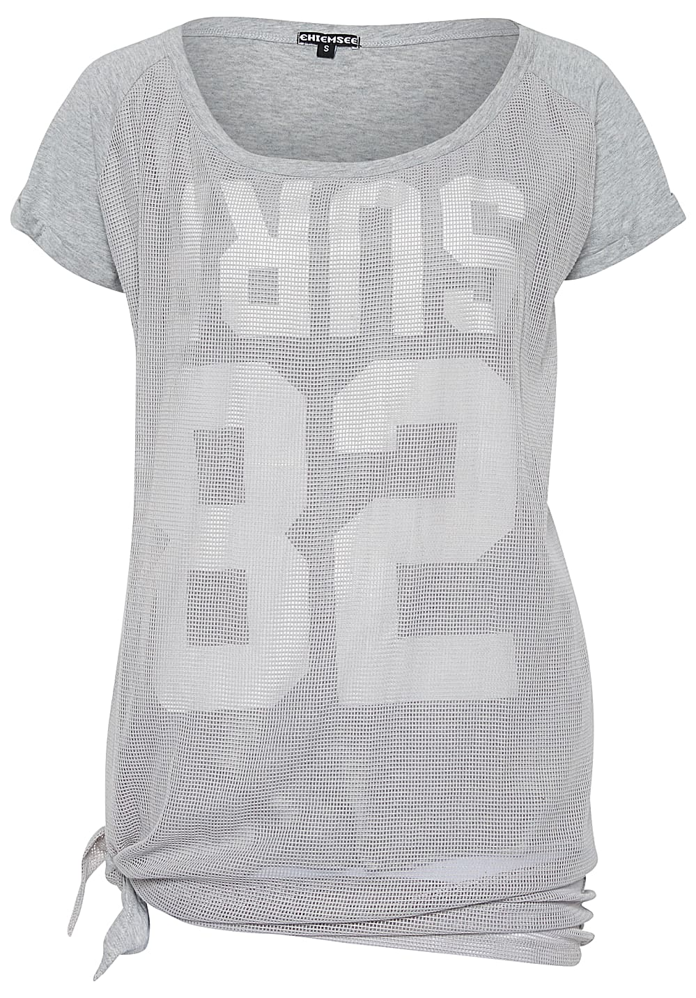 Chiemsee T Shirt Oversize For Women Grey Planet Sports Oversized Next