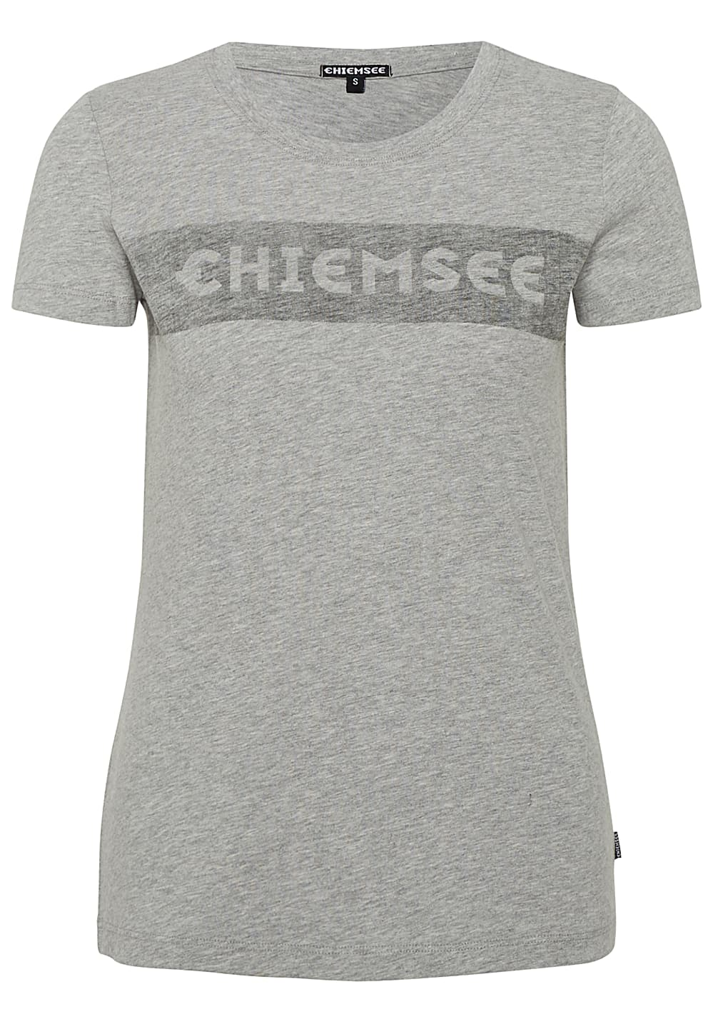 967e41a8302498 Chiemsee T-Shirt Frontdruck - T-Shirt for Women - Grey - Planet Sports