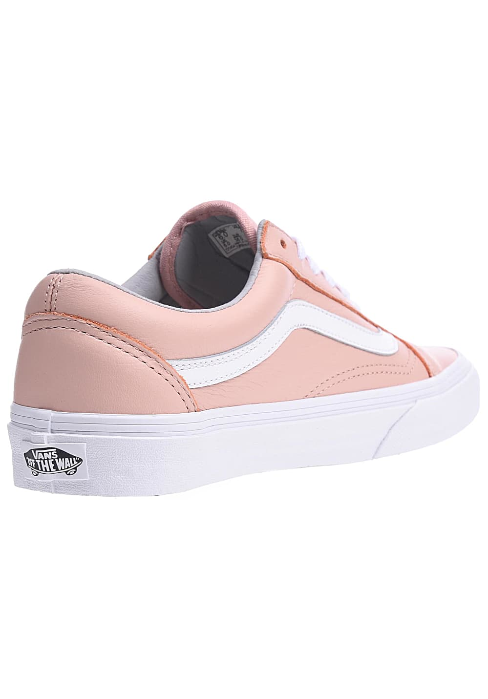 vans old skool rosa pelle