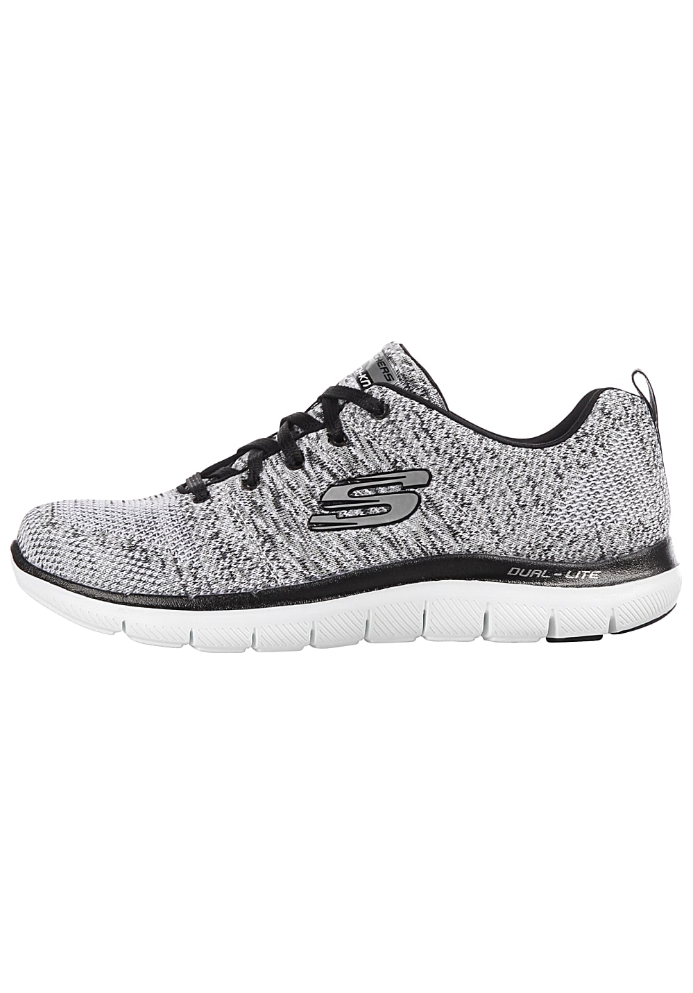 Skechers Flex Appeal 2.0 High Energy Baskets pour Femme Gris