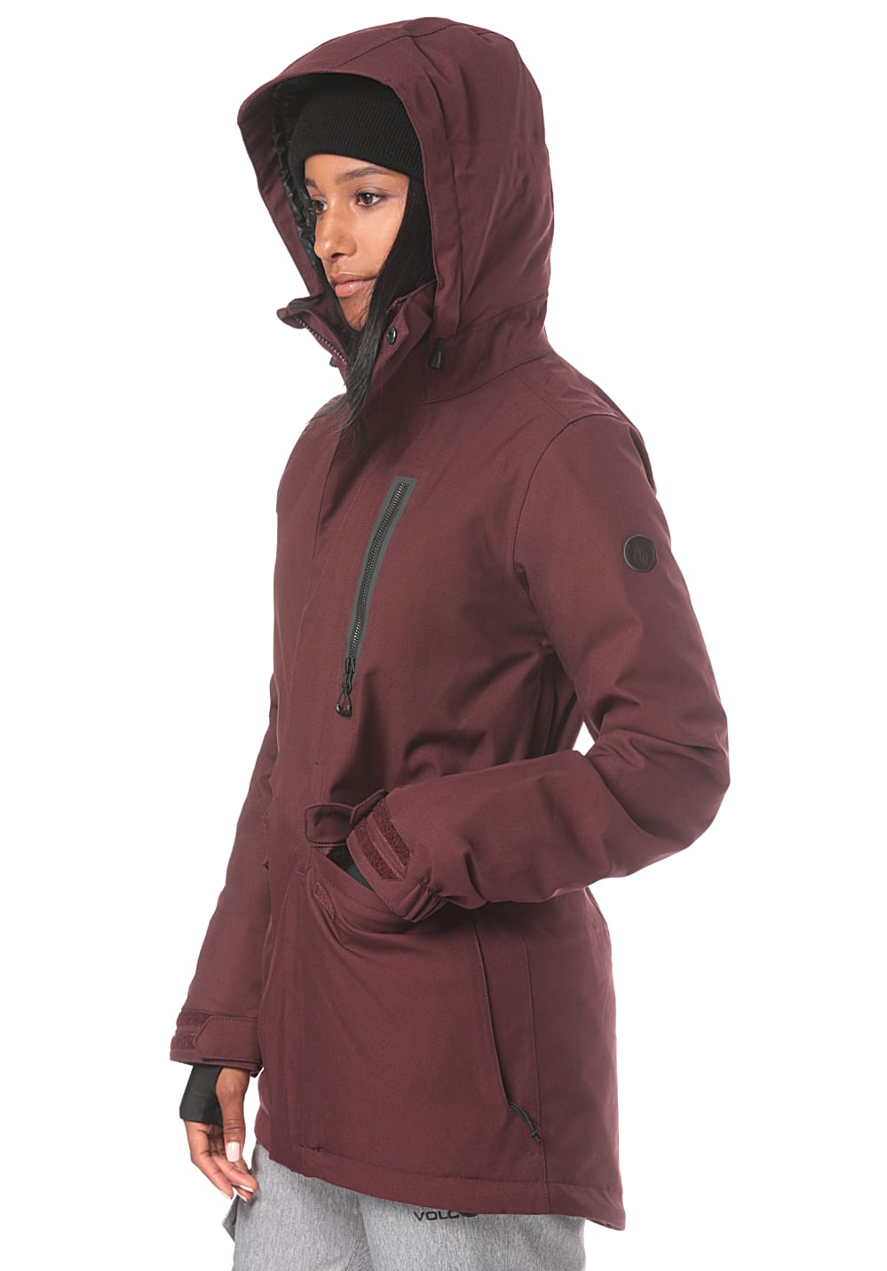 39fd8c50e Volcom Shelter 3D Stretch - Snowboard Jacket for Women - Red