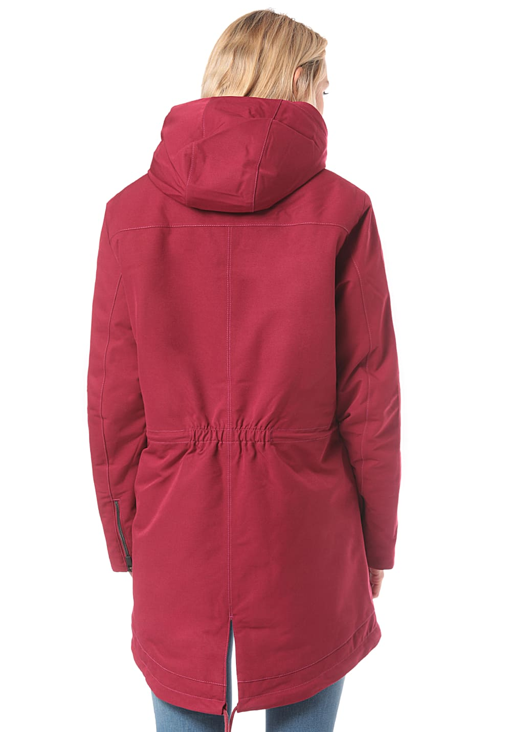 check out 549c6 18ff8 Vaude Manukau - Outdoor Jacket for Women - Red