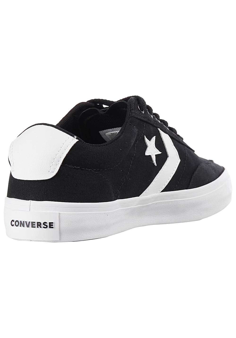 Converse Courtland OX - Sneakers for Men - Black - Planet Sports 78bc7a5797