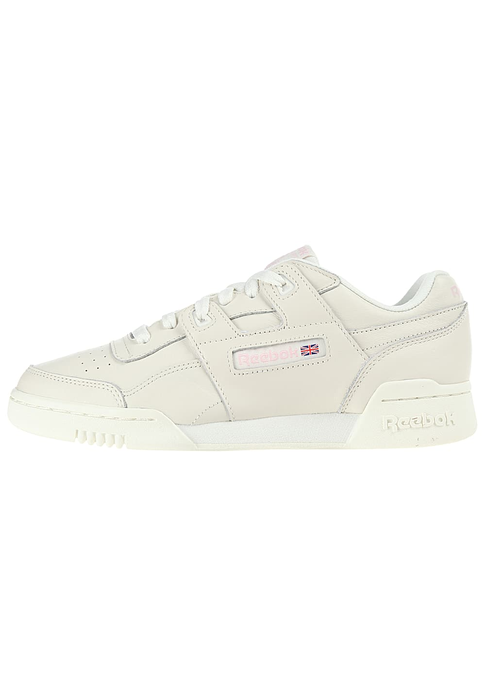 Reebok Workout Lo Plus Baskets pour Femme Beige