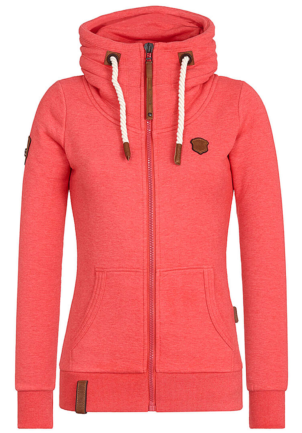 NAKETANO Monsterbumserin Pimped Sweat Jacket for Women Red