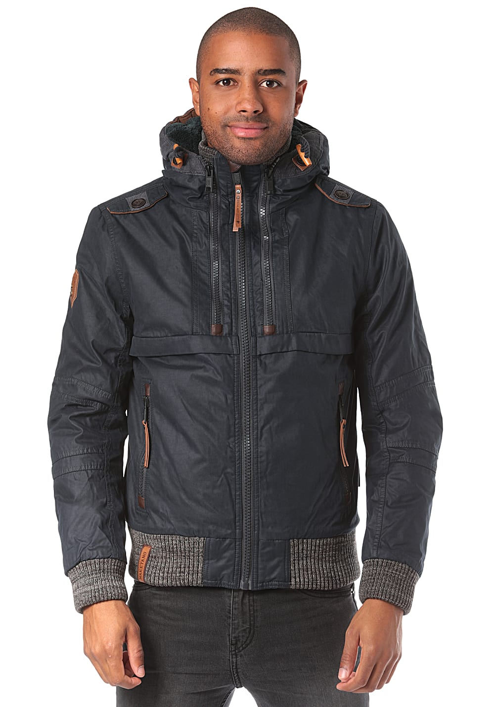 NAKETANO Gurkengünstling II Jacket for Men Blue Men Men