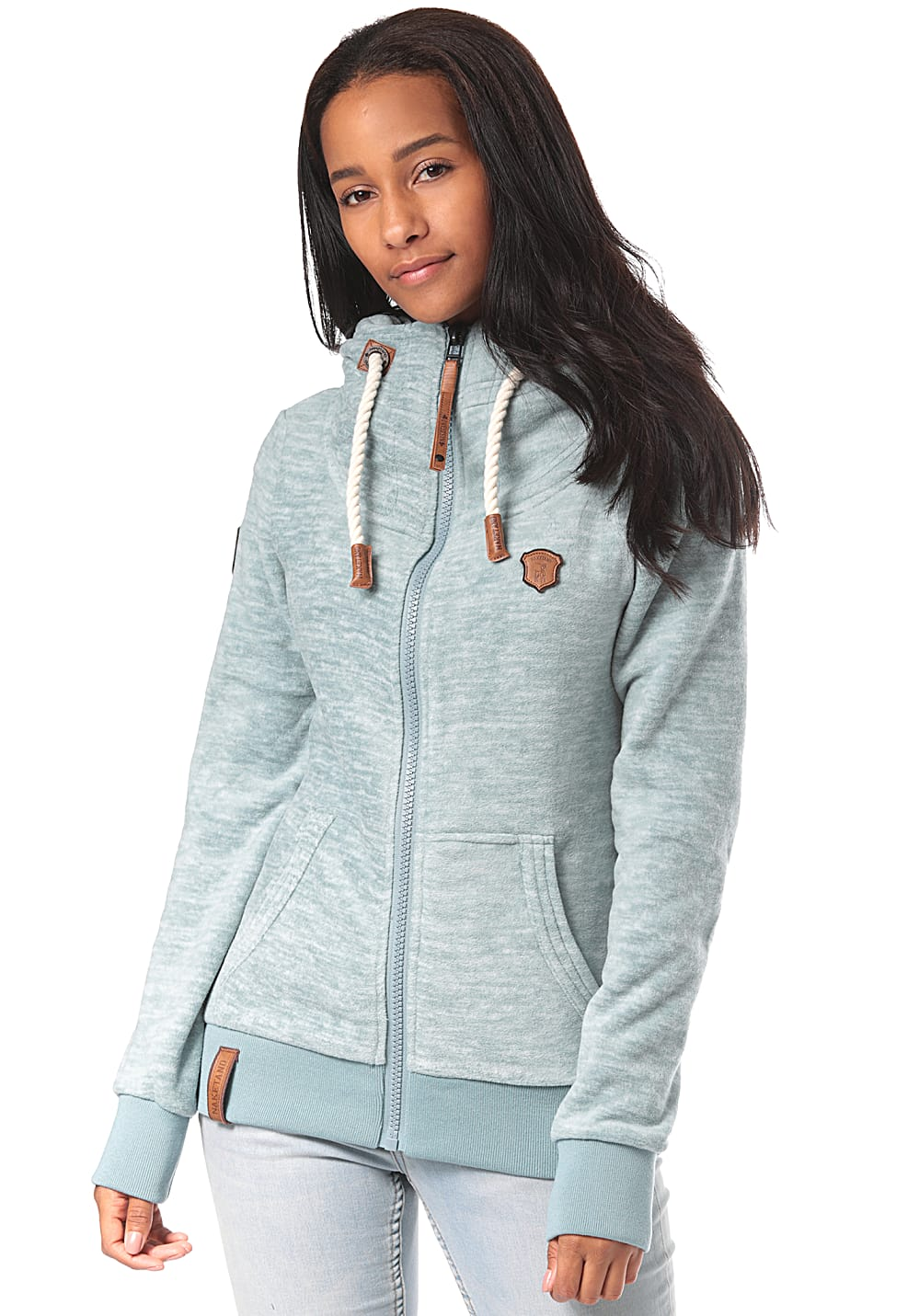 NAKETANO Women Redefreiheit Pimped Fleece Jacket for Women