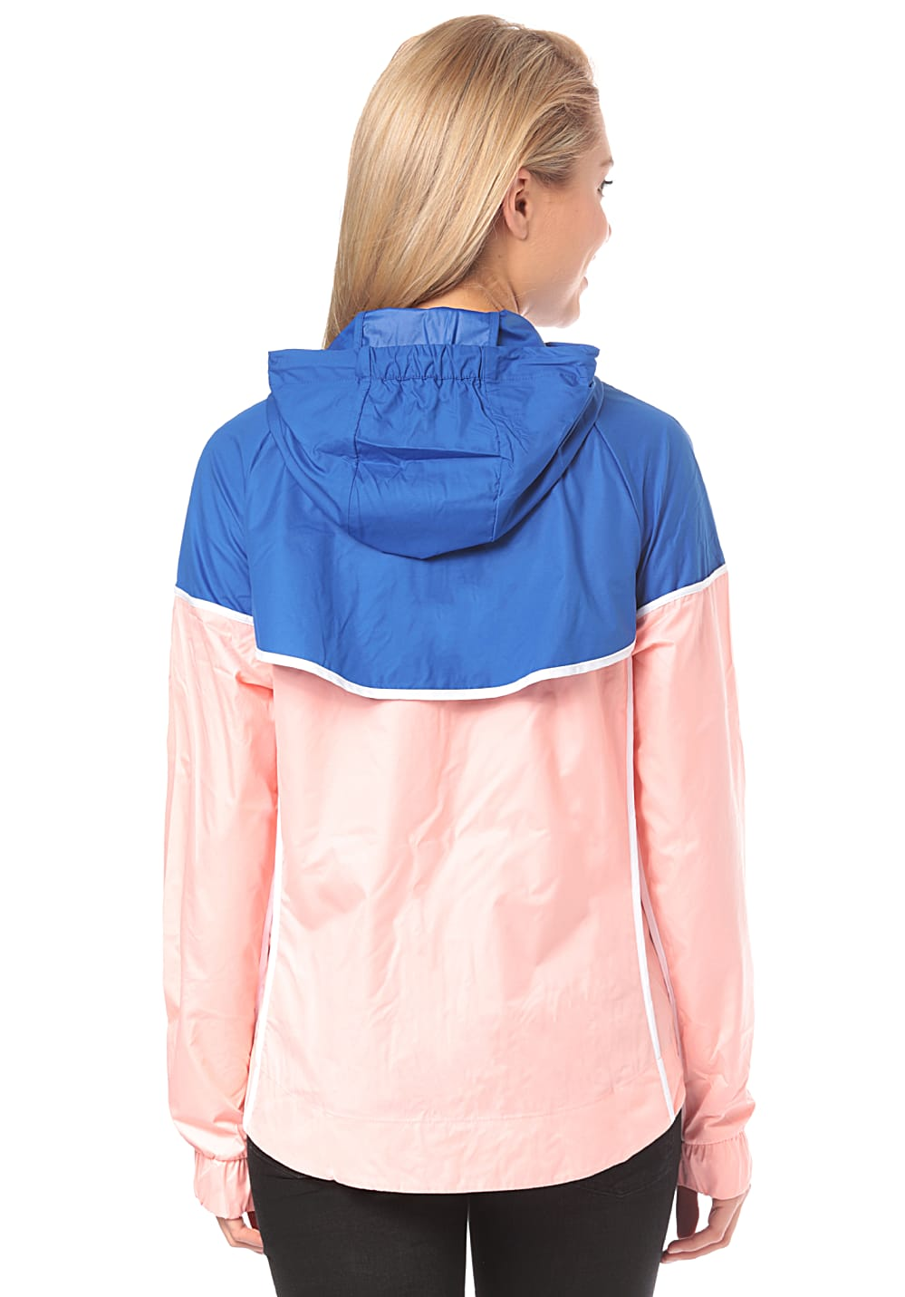 Planet Mujeres Windrunner Nike Para Sportswear Chaqueta Eq1wpxyxq Rosa rxn4vr