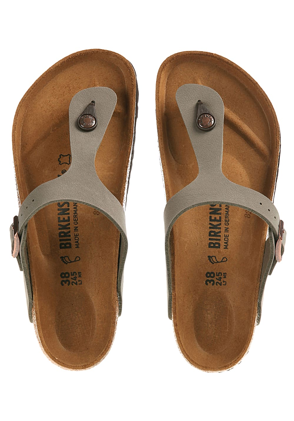 new product c9ea9 a86a1 Birkenstock Gizeh BF - Sandals for Women - Grey