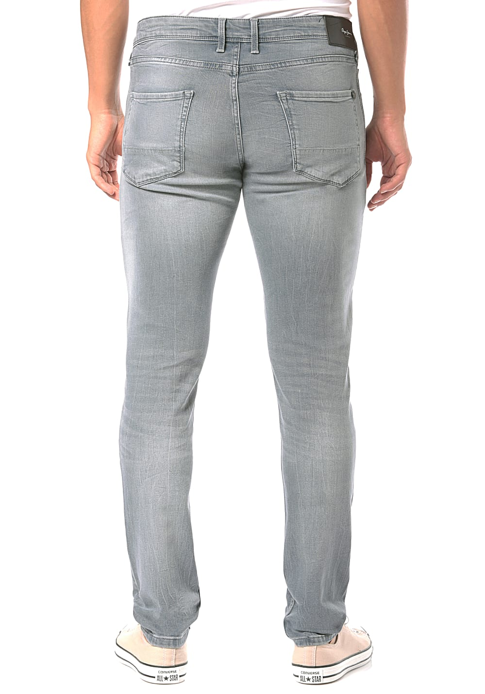 09dafda0a8a3a PEPE JEANS Finsbury - Denim Jeans for Men - Grey - Planet Sports