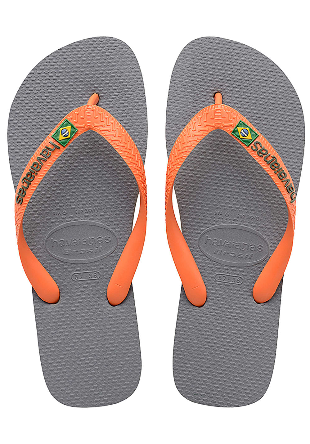 f489a92d2d83f ... HAVAIANAS Brasil Logo - Sandals - Grey. Back to Overview. -20%