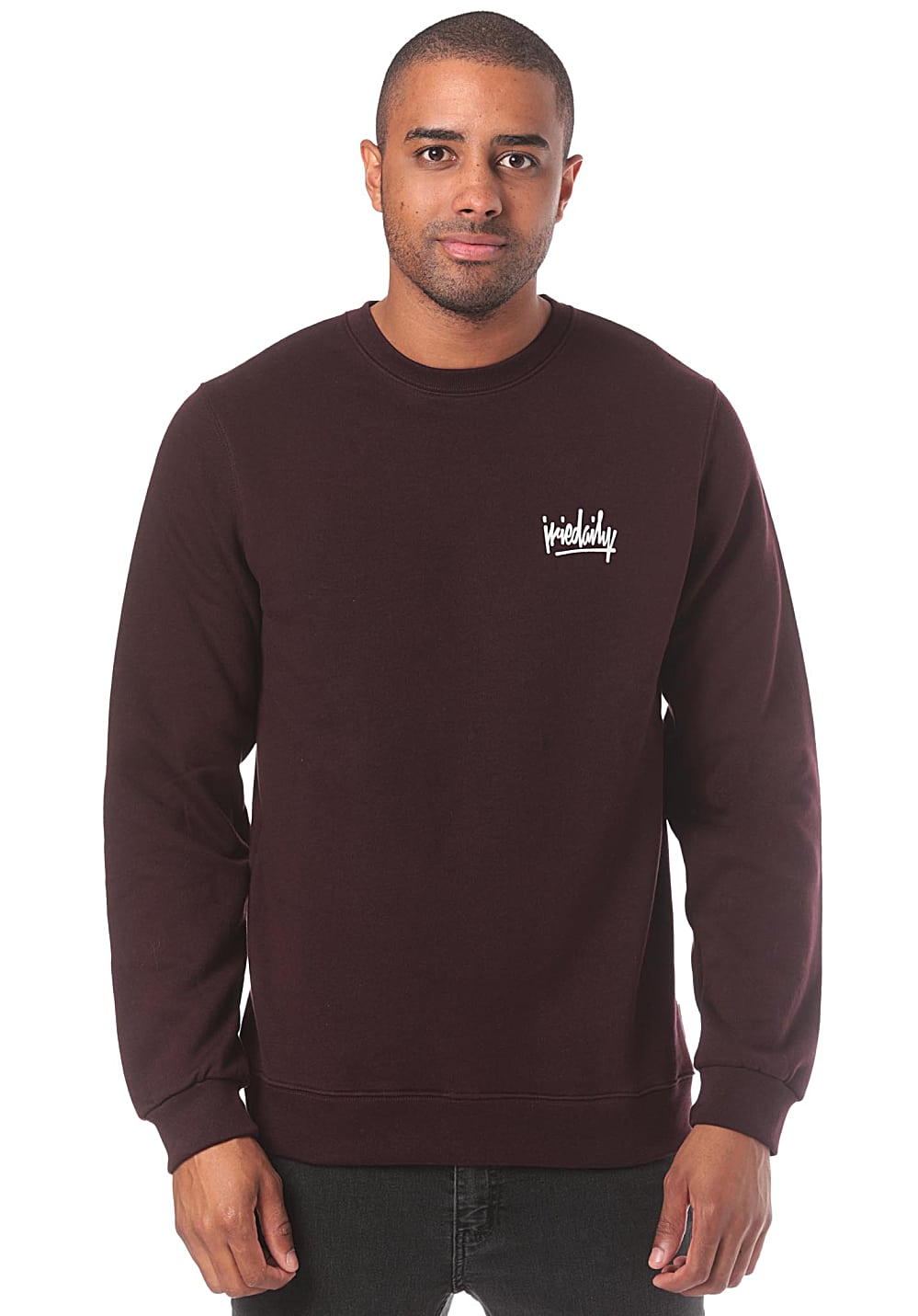 Iriedaily Tagg Crew - Sweat pour Homme - Rouge