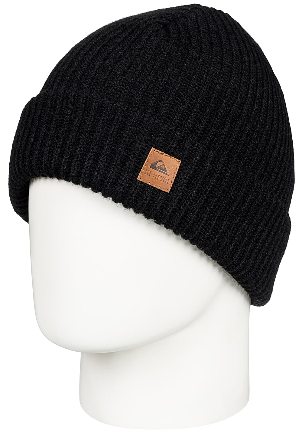 f5ef3bd97b2 Quiksilver Routine - Beanie for Men - Black - Planet Sports