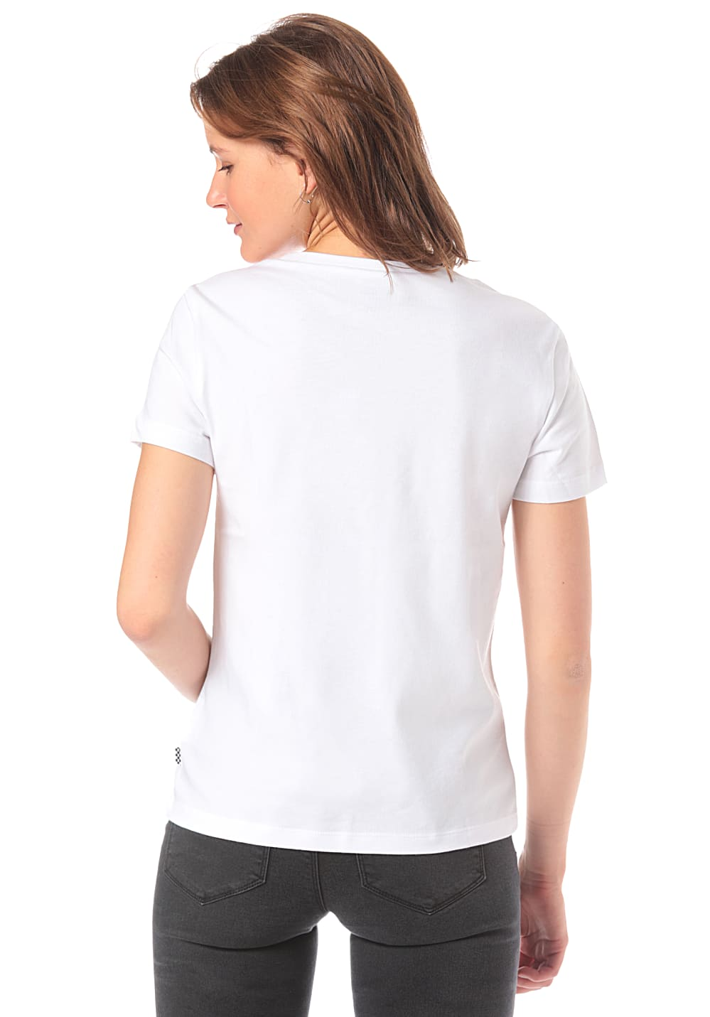 3936b1db ... Vans Boxed Rose Checks - T-Shirt for Women - White. Back to Overview.  1; 2. Previous