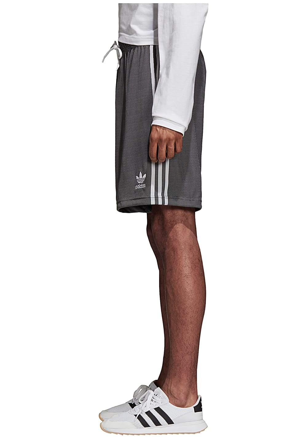 detailed pictures fdc08 d4fb8 ADIDAS ORIGINALS Plgn - Shorts for Men - Grey - Planet Sports
