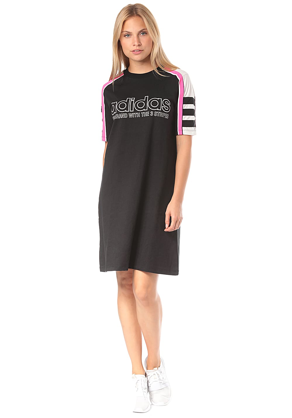 86d32477cb2 ADIDAS ORIGINALS Tee - Dress for Women - Black - Planet Sports