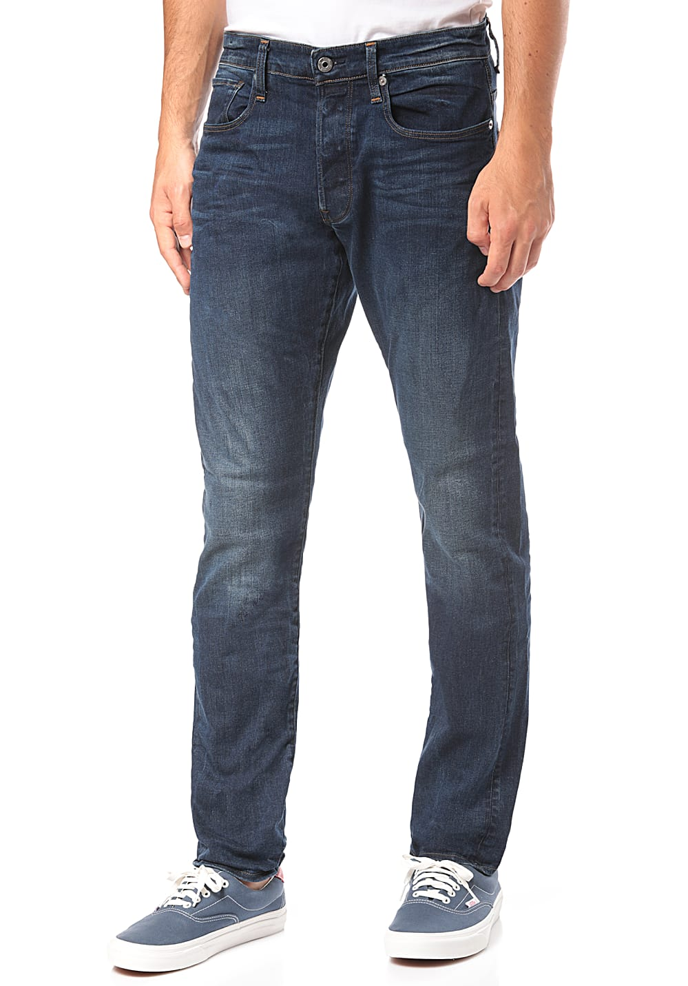 G STAR 3301 Straight Tapered Jean pour Homme Bleu