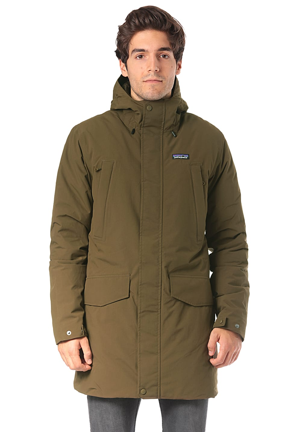 4e222aeb6a9 PATAGONIA City Storm - Outdoor Jacket for Men - Green - Planet Sports