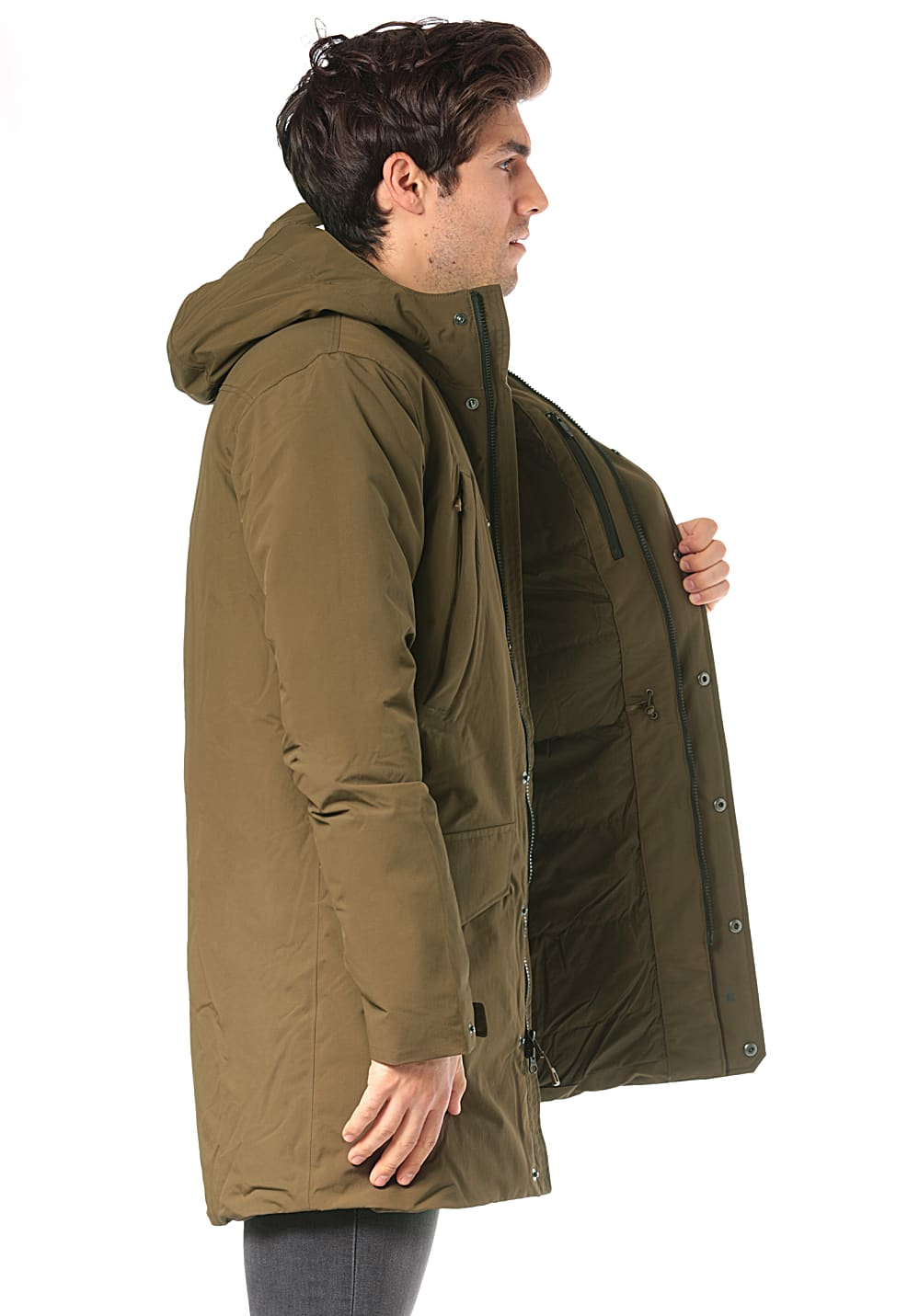 1b7b130836f PATAGONIA City Storm - Outdoor Jacket for Men - Green