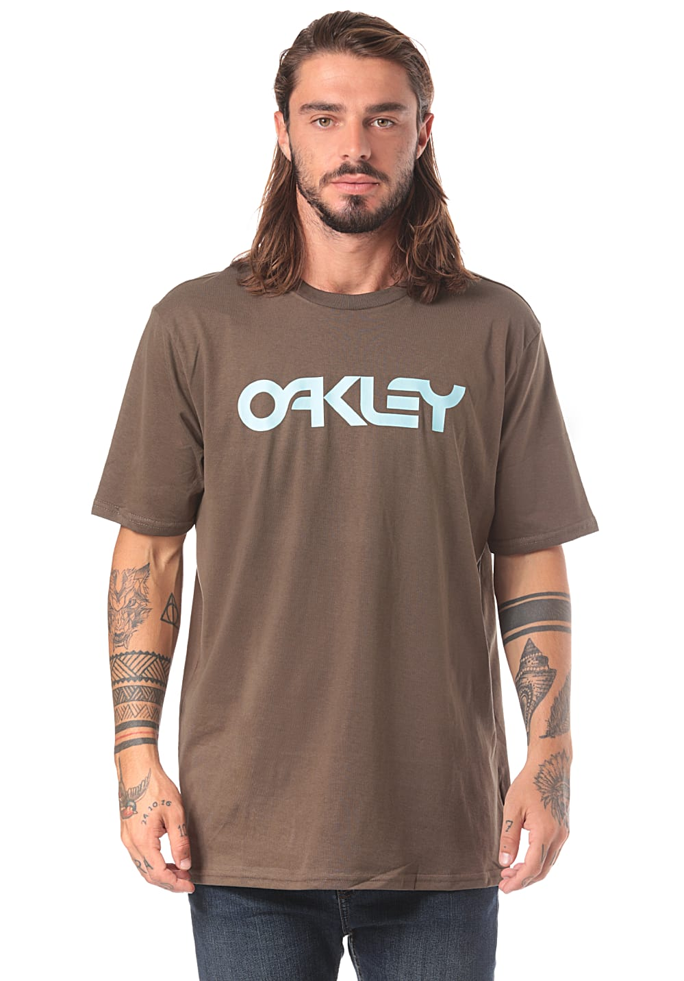 ... OAKLEY Mark II - T-Shirt for Men - Brown. Back to Overview. 1  2.  Previous d1d2c458505c