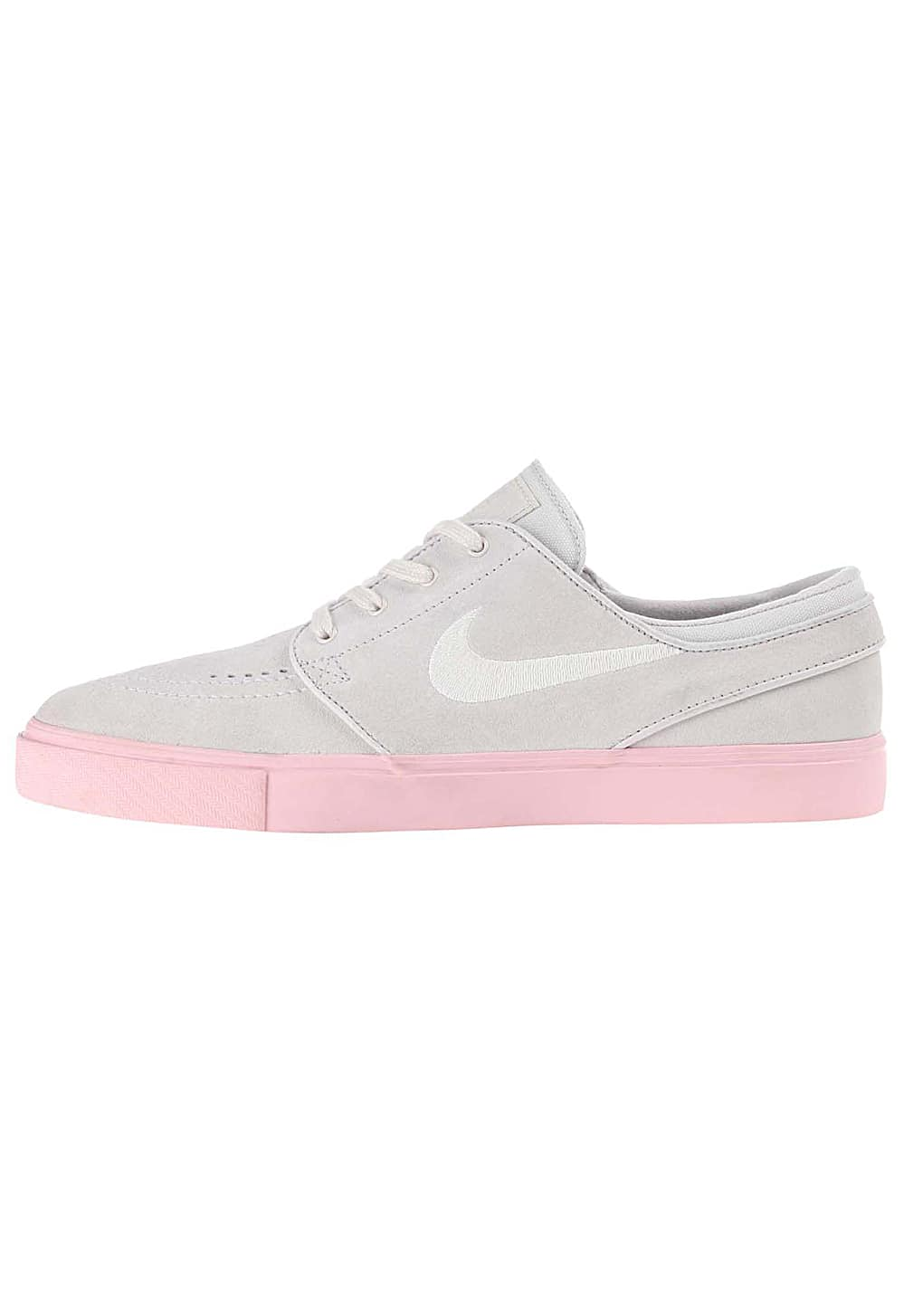 Nike SB Zoom Stefan Janoski Shoes Vast GreyPhantom Bubblegum Bubblegum