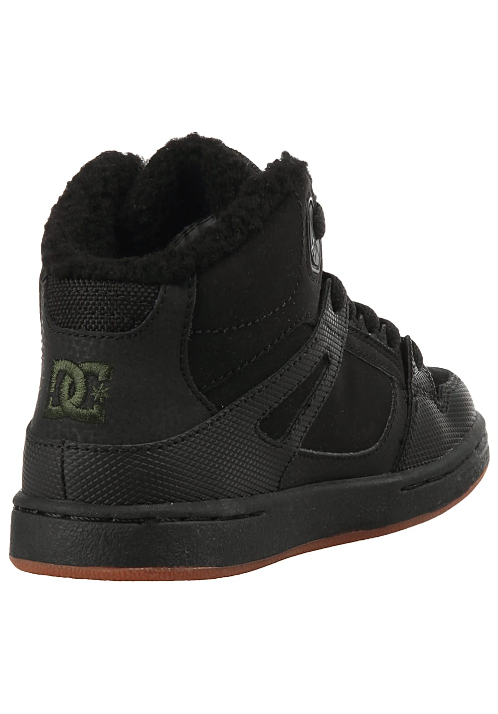 a22738501036 DC Pure Ht Winter - Sneakers for Kids Boys - Black - Planet Sports