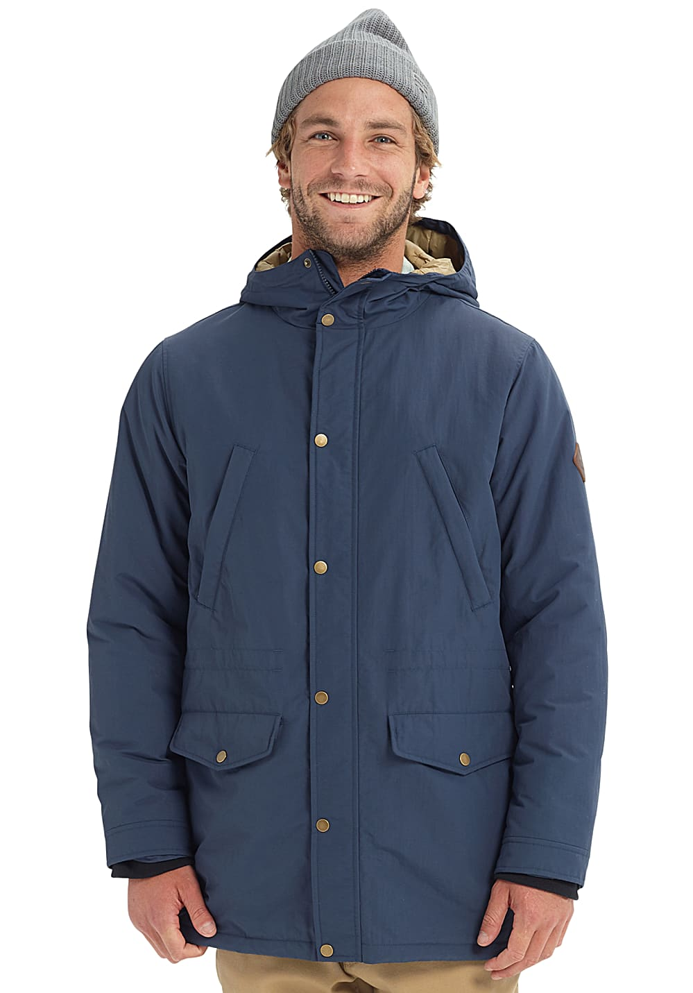 Burton Danning Trench Functional Jacket for Men Blue
