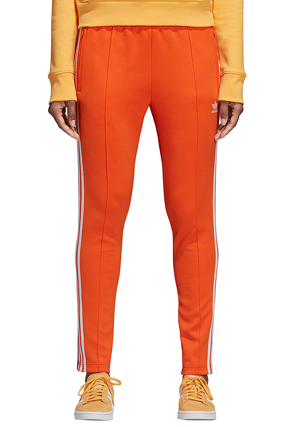 to buy arrives for whole family ADIDAS ORIGINALS Sst - Pantalon de survêtement pour Femme - Orange