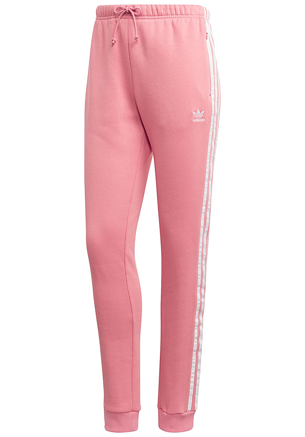 footwear catch look good shoes sale ADIDAS ORIGINALS Regular Cuff - Trackpants for Women - Pink