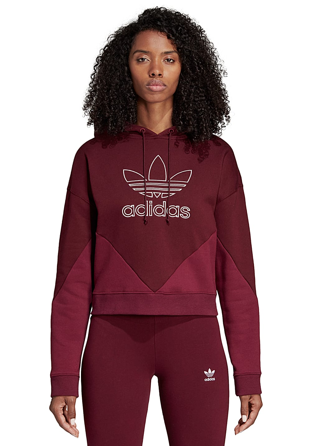 ADIDAS ORIGINALS Colorado - Sweat à capuche pour Femme - Rouge