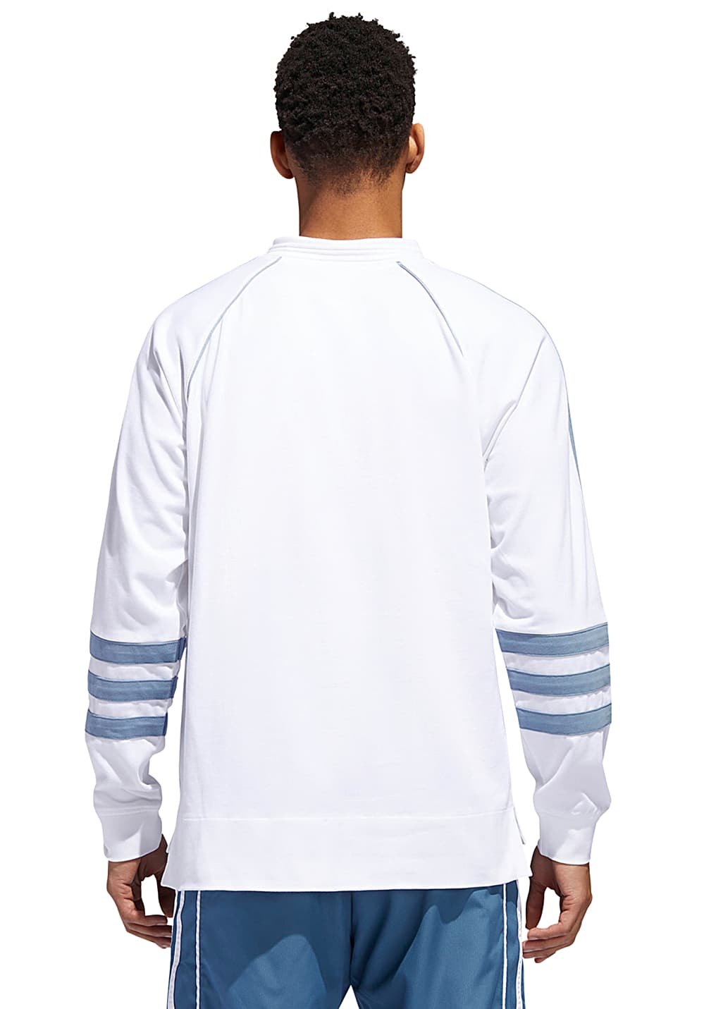 e954a864972 ADIDAS ORIGINALS Auth Rugby - Outerwear for Men - White - Planet Sports