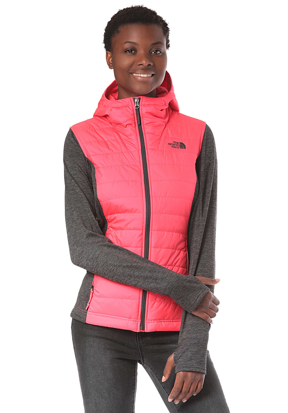 9c9621d41 THE NORTH FACE Mashup Pl Hdie - Outdoor Jacket for Women - Pink ...