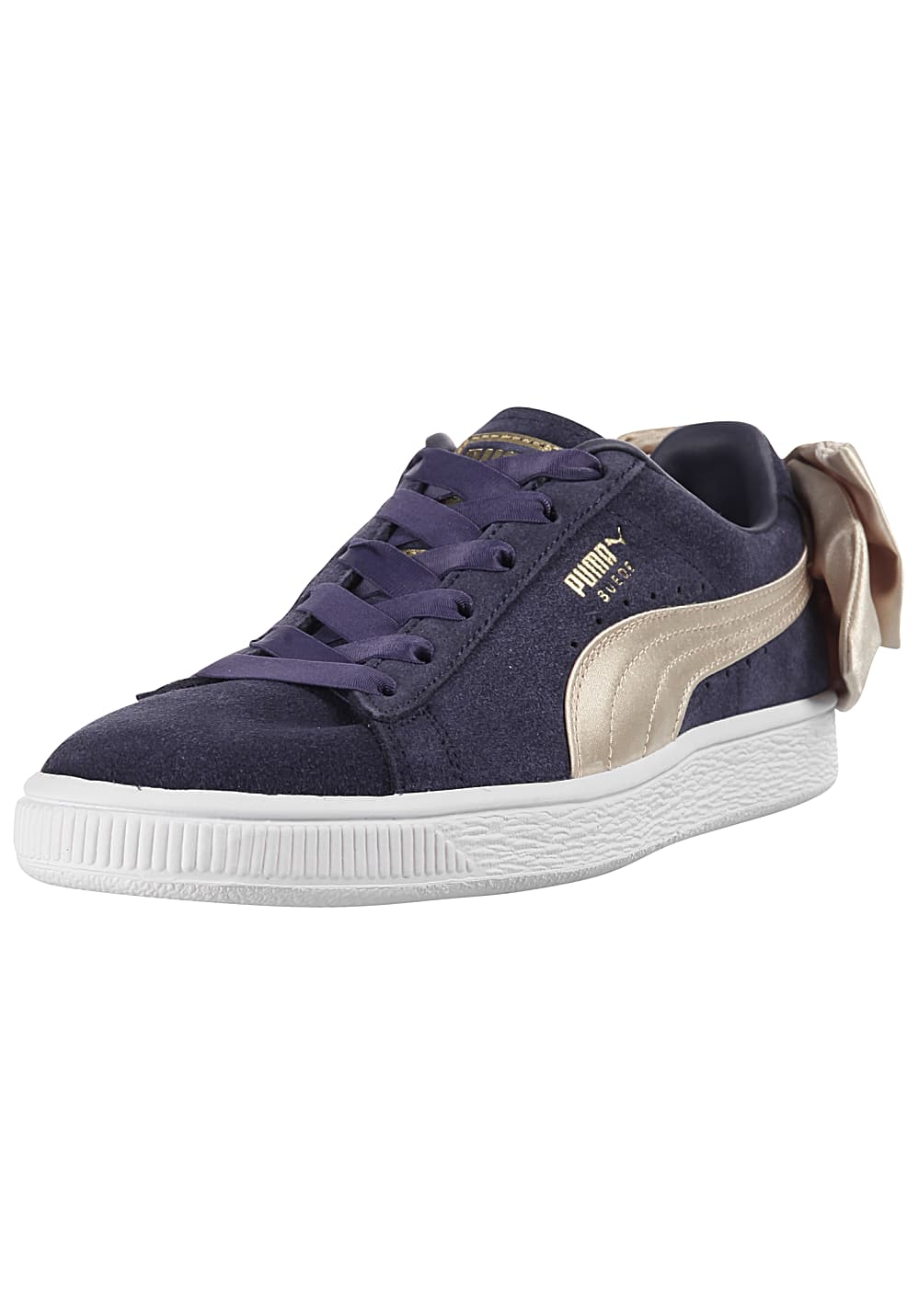 pretty nice a889b e2a83 Puma Suede Bow Varsity - Sneakers for Women - Blue