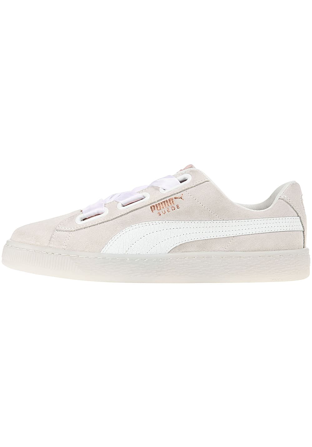 official photos 37363 a240c Puma Suede Heart Artica - Sneakers for Women - Beige ...