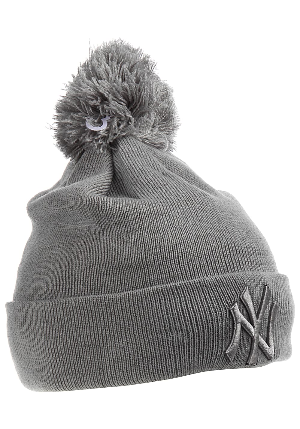 3cb4dfea2a637 ... NEW Era Bobble Cuff New York Yankees - Beanie for Women - Grey. Back to  Overview. 1  2  3  4. Previous. Next