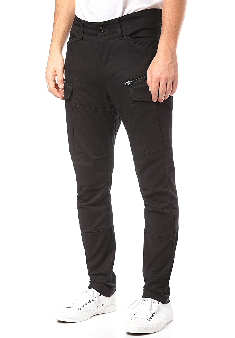 amazing quality best collection color brilliancy G-STAR Rovic Zip 3d Skinny - Cargo Pants for Men - Black