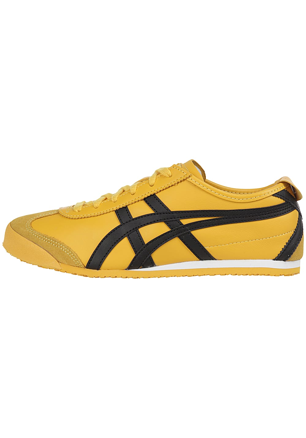 onitsuka tiger mexico 66 yellow black womens trainers nike