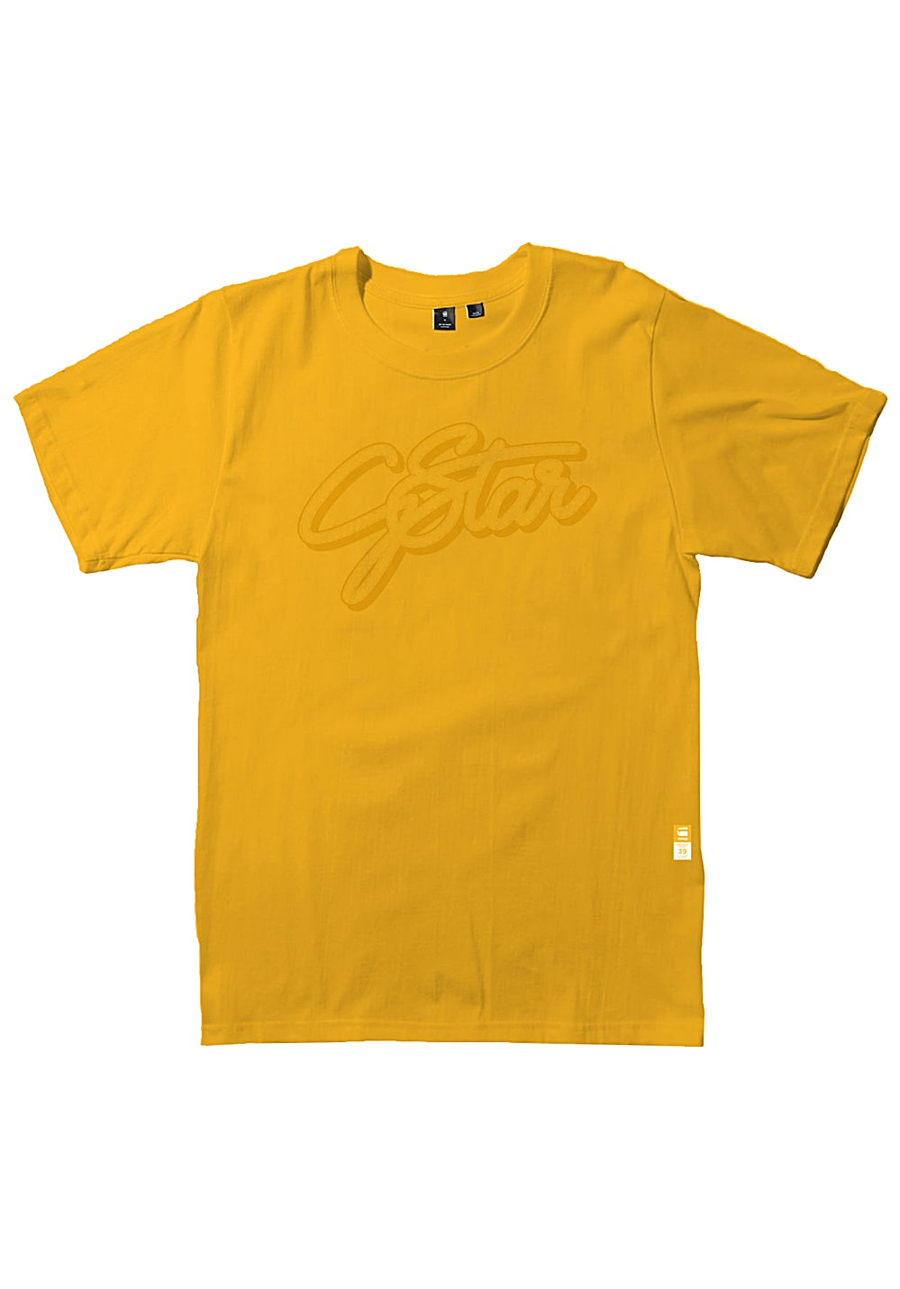 8bfc036ea7f G-STAR 03 - T-Shirt for Men - Yellow - Planet Sports