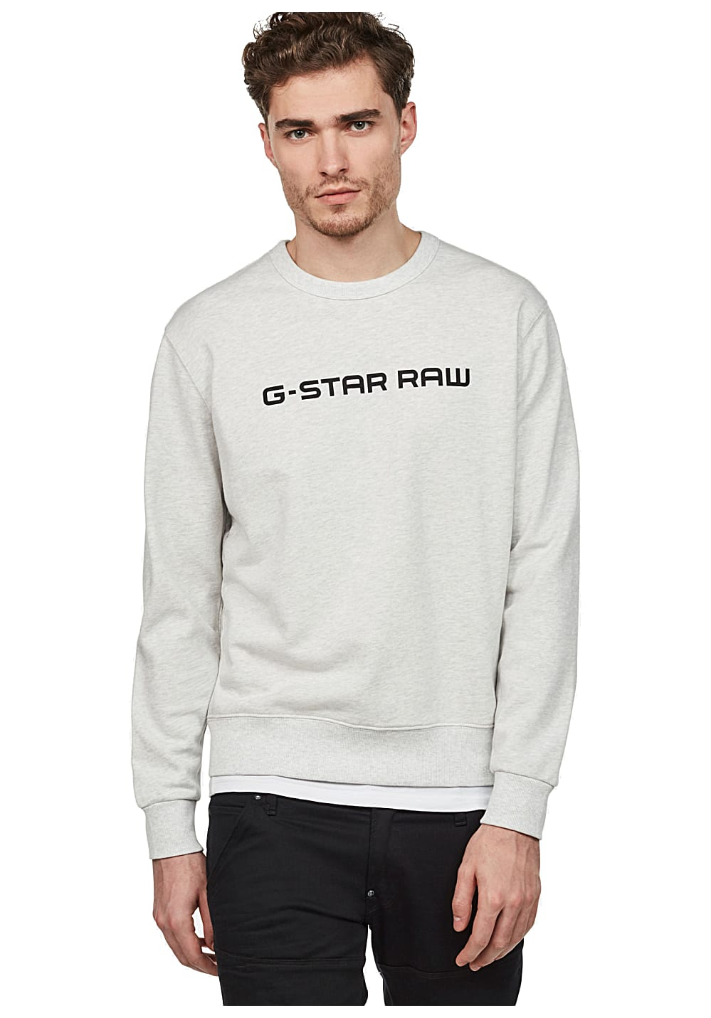 G R Star Homme Loaq Sports Blanc Sweat Pour Planet HqBUHxZr